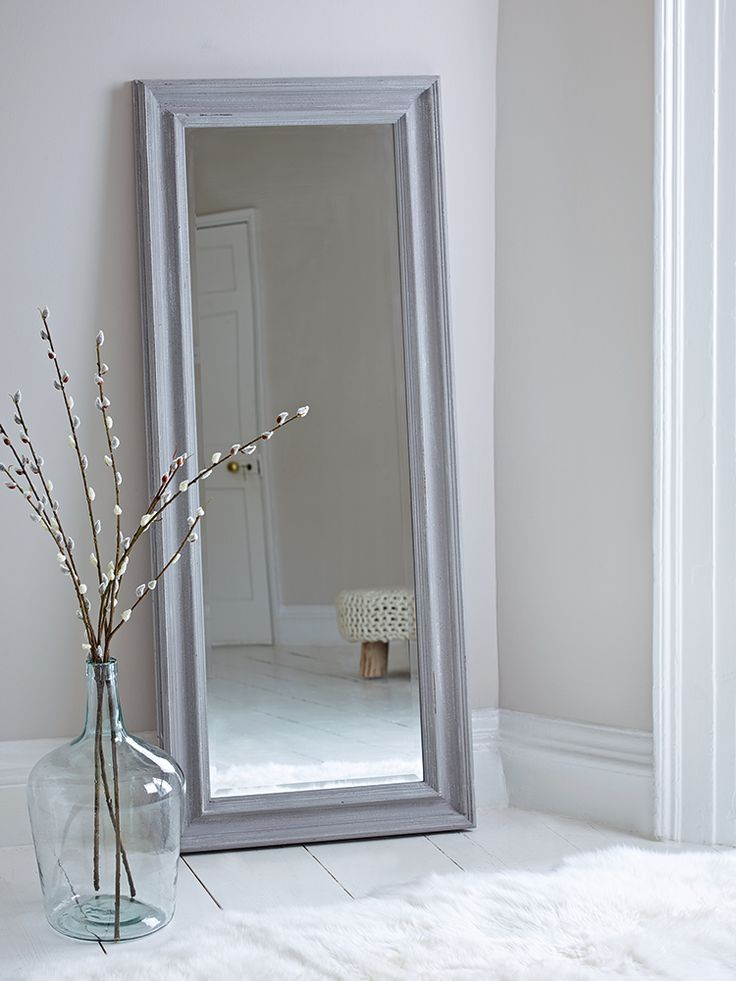 1000 ideas about framed mirrors on pinterest antique for Full length mirror in living room