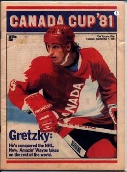 1981 Canada Cup #99 Wayne Gretzky