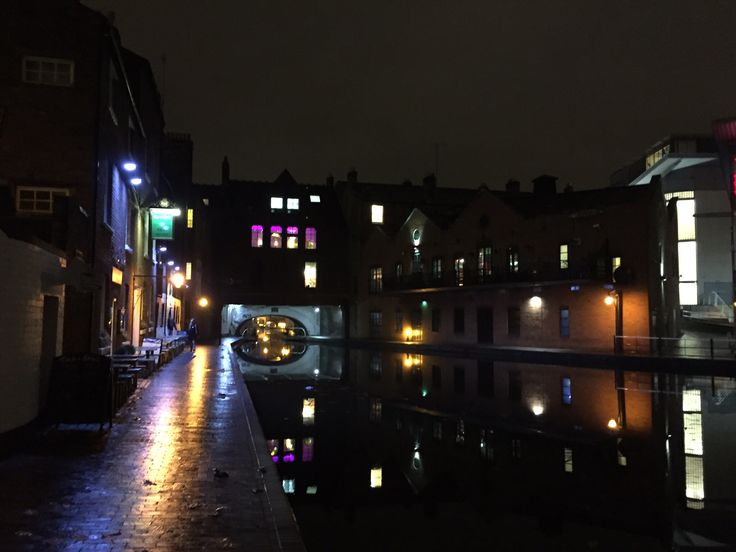 UK Birmingham Nightlife Pub...