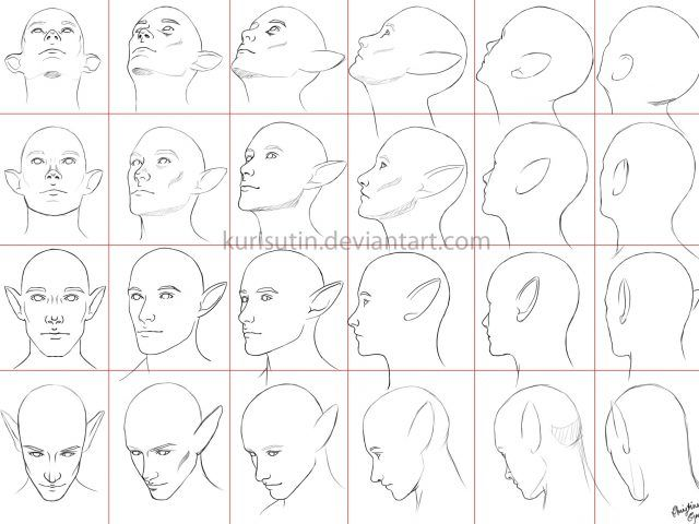 Image Result For Male Face Different Angles Head Angles Face Angles Drawing Heads