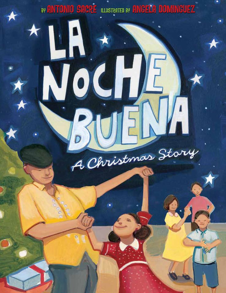 Every family has their traditions and the Cuban-American culture is valuable to Nina's father's family and this is her Christmas with them. Through a melting-pot of experiences this book is a great introduction with a Spanish Christmas Eve holiday Buena Noche.