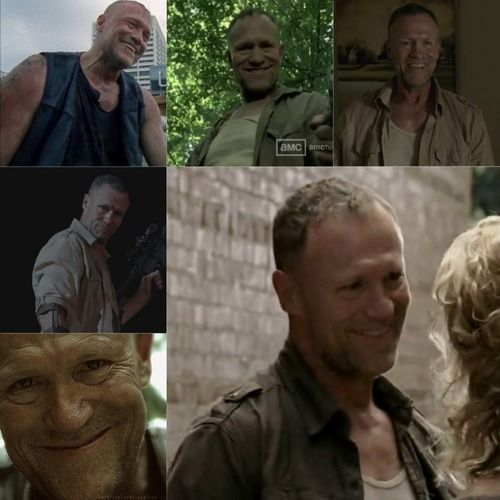 Merle Dixon's smile ● Season 1, 2 and 3 □ REST IN PEACE: From Season 1 Episode 2 to Season 3 Episode 15 | The Walking Dead