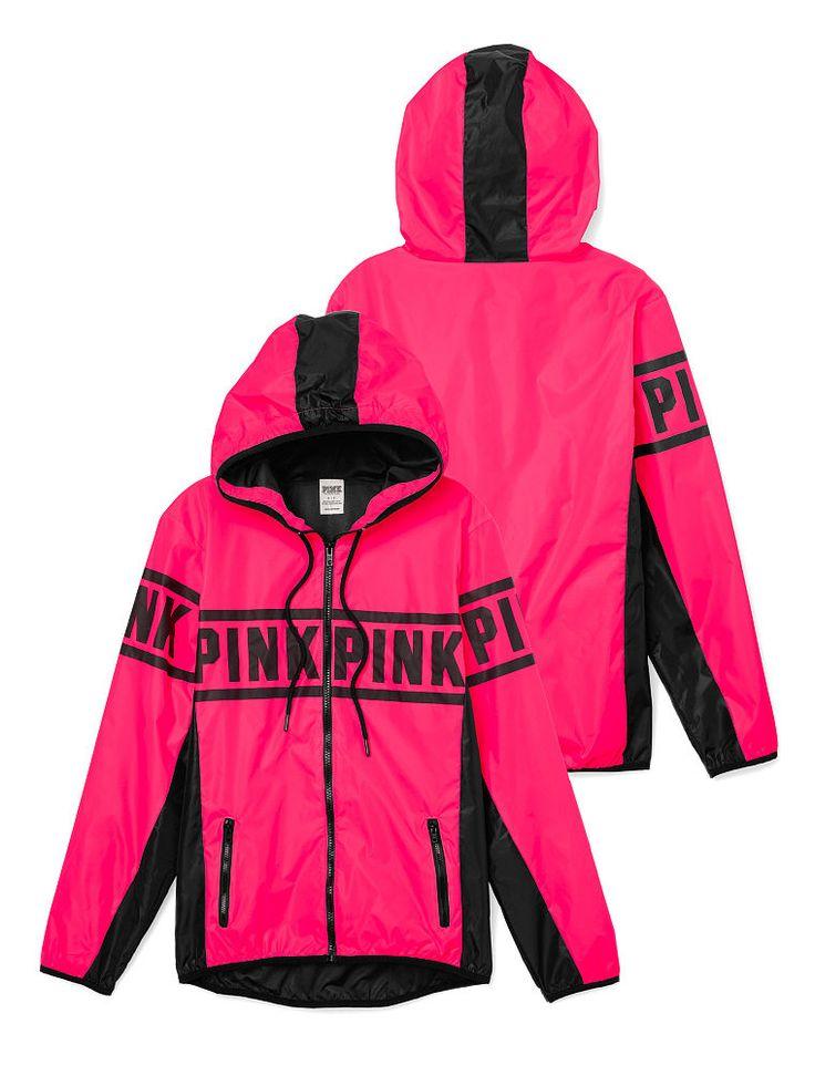 Anorak Full-Zip Hoodie - PINK - Victoria's Secret