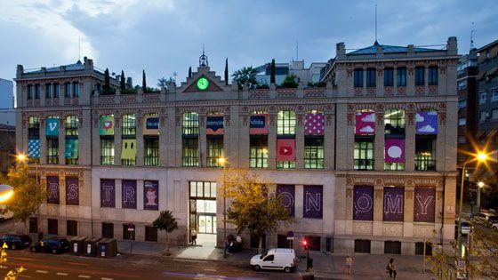 Façade de La Casa Encendida. Madrid