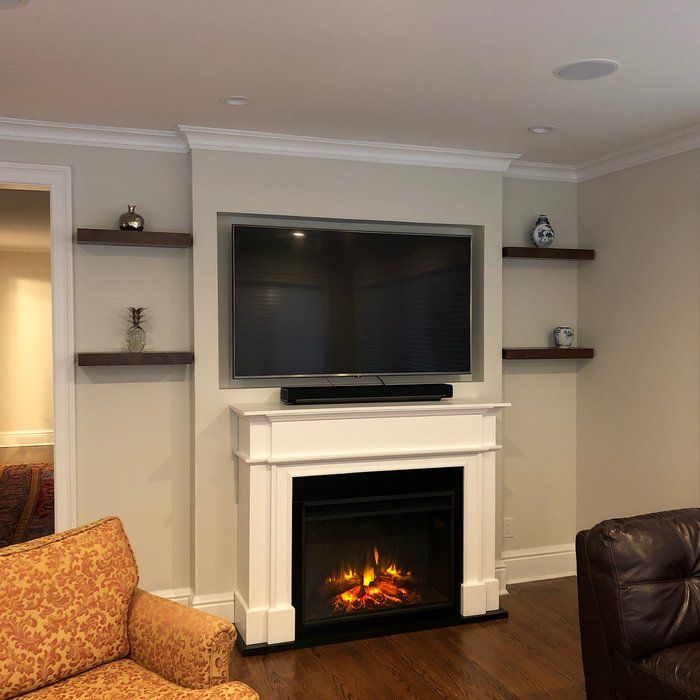 Harlan Grand Electric Fireplace In 2019 Electric