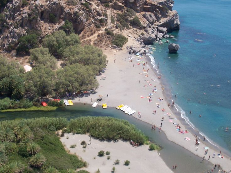 Platanias Taxi Tours: Preveli Beach Tour. Preveli is certainly the most famous beach in southern Crete, accepting thousands of visitors every summer...