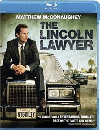 The Lincoln Lawyer 1 Disc Blu Ray Digital Copy Lincoln