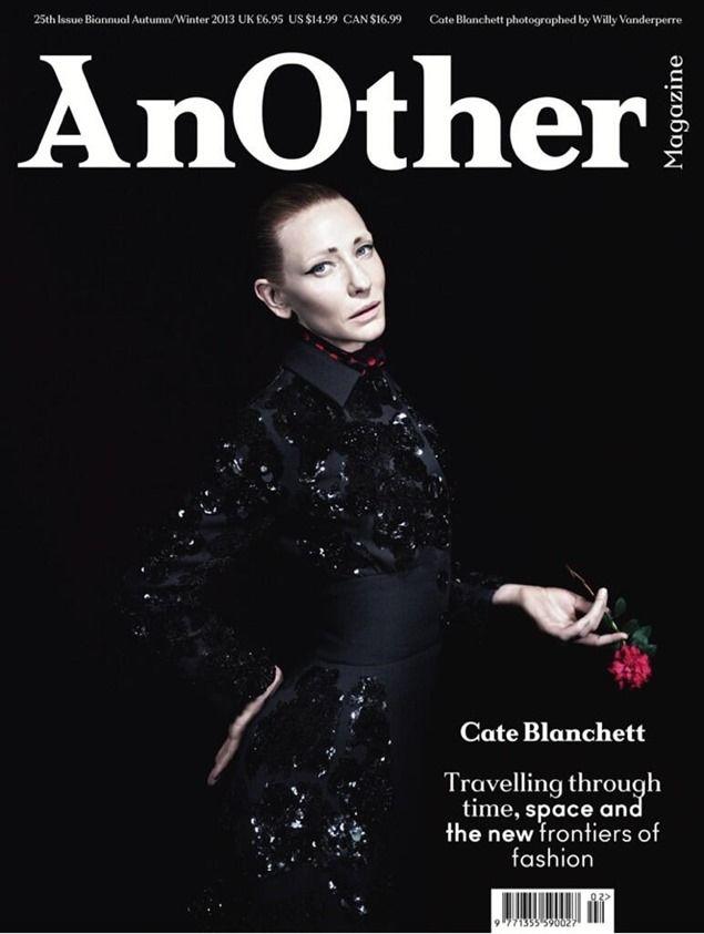 Portada: Cate Blanchett en Another Magazine - El blog de El Señor de las Gafas Amarillas