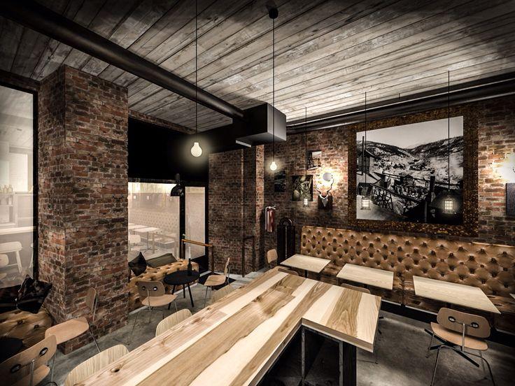 Tommyknocker Craft Beer Bar in Helsinki (opened 3/2015). Designed by sisatila.fi