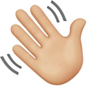 waving hand sign 2