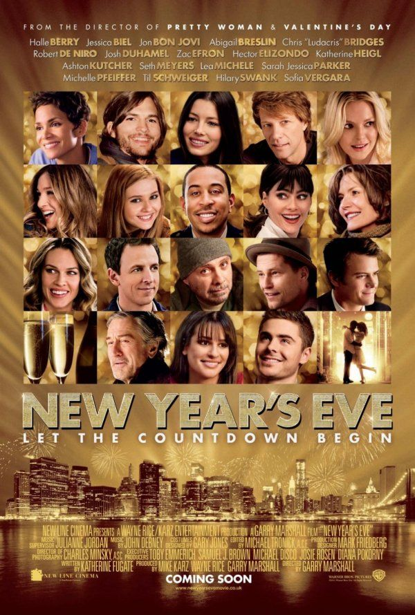 New Years Eve: Good Movies, Newyearseve, Eve 2011, Favorite Movies, Movie Poster, Films, New Years Eve