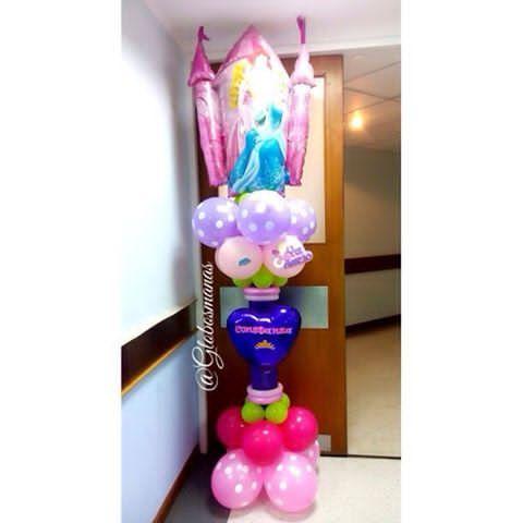 Ha nacido la Princesa Constanza felicidades a Los afortunados padres. 👸👑🎀💘💞 #bebe #nacimiento #fiestas #fiesta #decoración #globos #arreglos #arreglo #amor #pompones #abanicos #pompon #abanico #love #teamo #cumpleaños #columnadeglobos #columnballoons #aniversario  #primeracomunion  #boda #15años #decoracionhabitacion  #balloons #decoración #flores #columnadecorativa #clinicaleopoldoaguerrevere #globospersonalizados