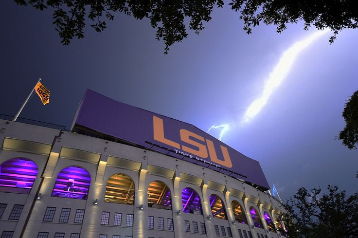 Tiger Stadium is home to the LSU Tigers football team in Baton Rouge, Louisiana. #SEC