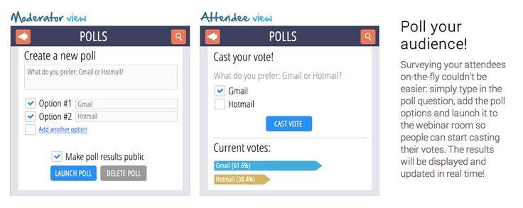 Do Live Surveys In Your Webinars  http://marketinggenesis.com/pin-jam  internetmarketing google hangouts