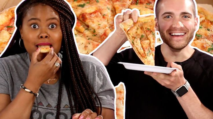 Pizza Lovers Try Pizza Topped With Mini Pizzas