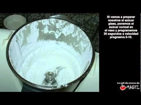 Glaseado blanco con thermomix - La web de cocina de Mabel
