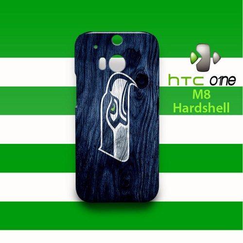 Seattle Seahawks Wood Pattern HTC One M8