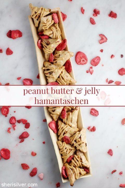 peanut butter jelly hamantaschen
