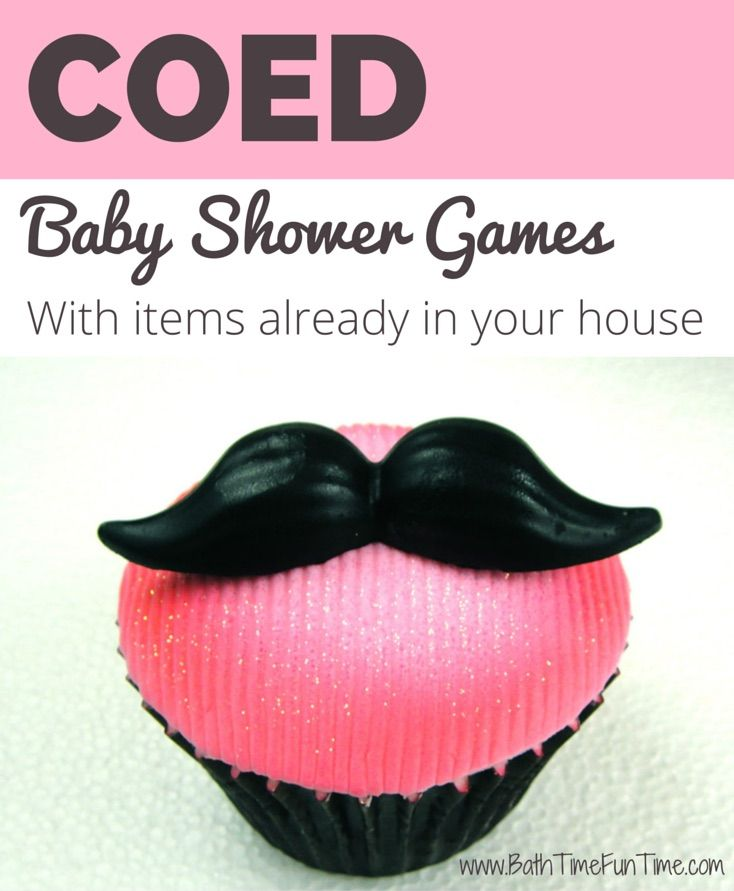 Baby Shower Games For Women Part - 43: Planning A Coed Baby Shower? Make Sure To Include At Least One Game With Men
