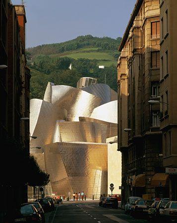 Frank Gehry. Guggenheim museum. Bilbao. Spain. 1997.
