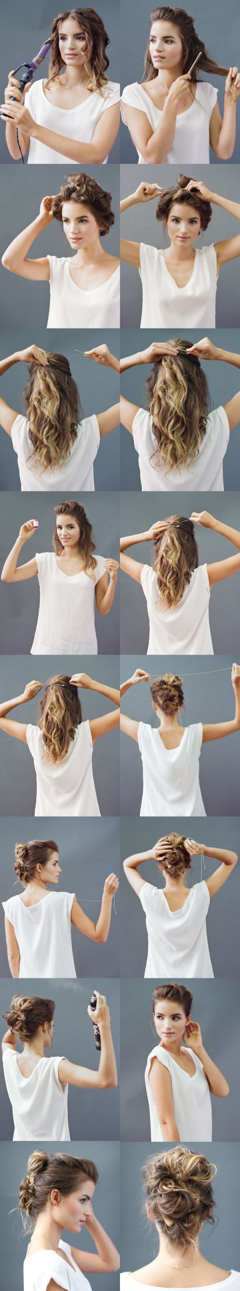17 Best images about Hair \u0026 Make Up on Pinterest | Side ponytail ...