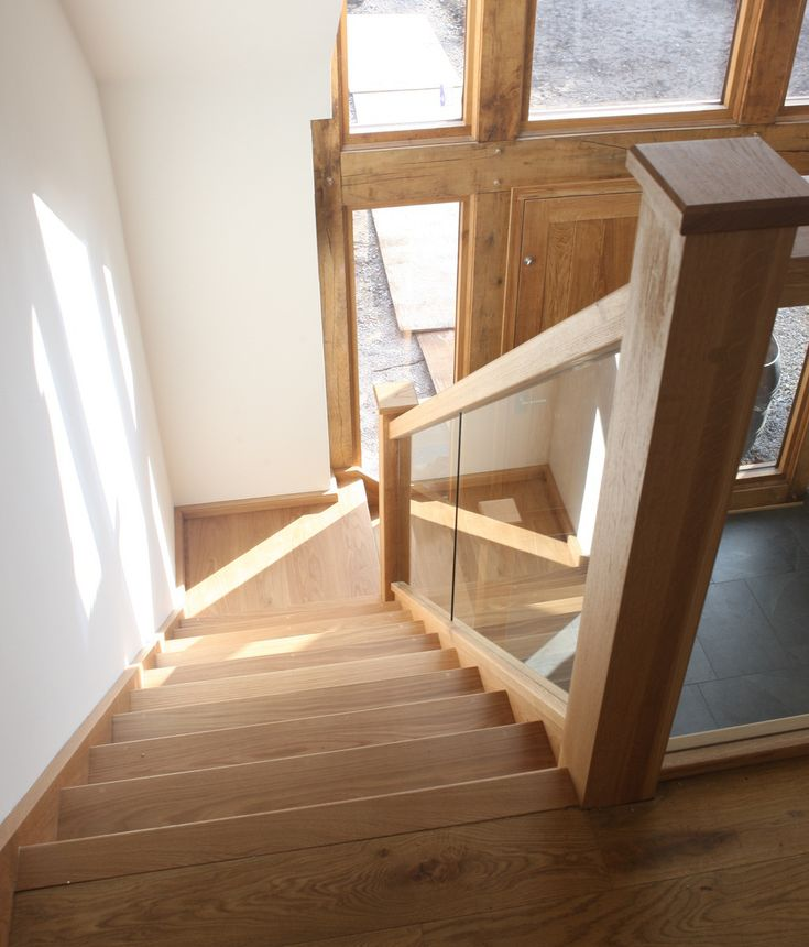 25 Best Ideas About Glass Stair Railing On Pinterest: Best 25+ Oak Stairs Ideas Only On Pinterest