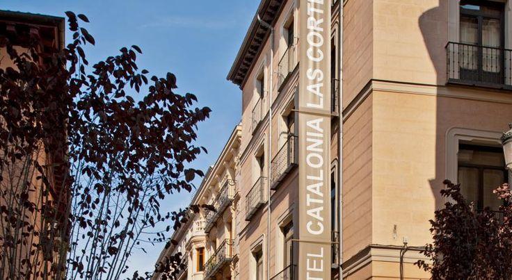 HOTEL|スペイン・マドリードのホテル>美しい18世紀の建物で、エル・プラド美術館から徒歩10分です>カタロニア ラス コルテス(Catalonia Las Cortes)