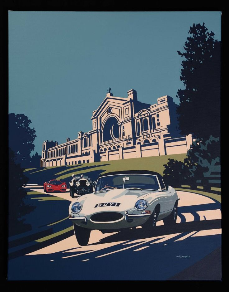 Best Tim Layzell Images On Pinterest Automotive Art Car