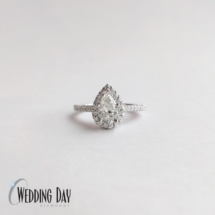 17 Best images about Pear Diamond Rings on Pinterest