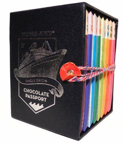 Trader Joe's Chocolate Passport Single Origin 8x 45g bars Trader Joe's www.amazo…