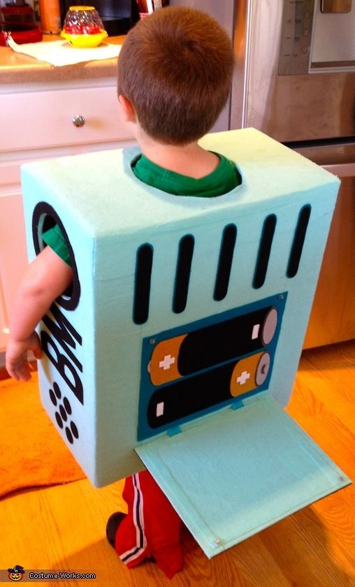 Matt: My son decided this year he would like to be BMO from Adventure Time. I thought long and hard about how to approach the costume and decided the only way...