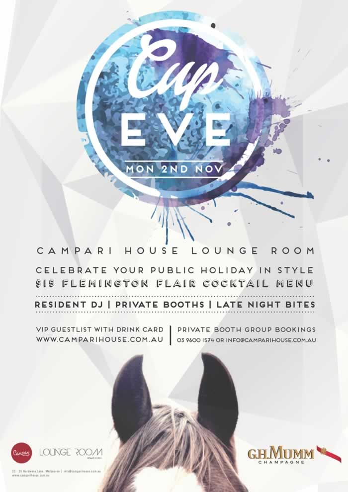 Cup Eve at Campari House