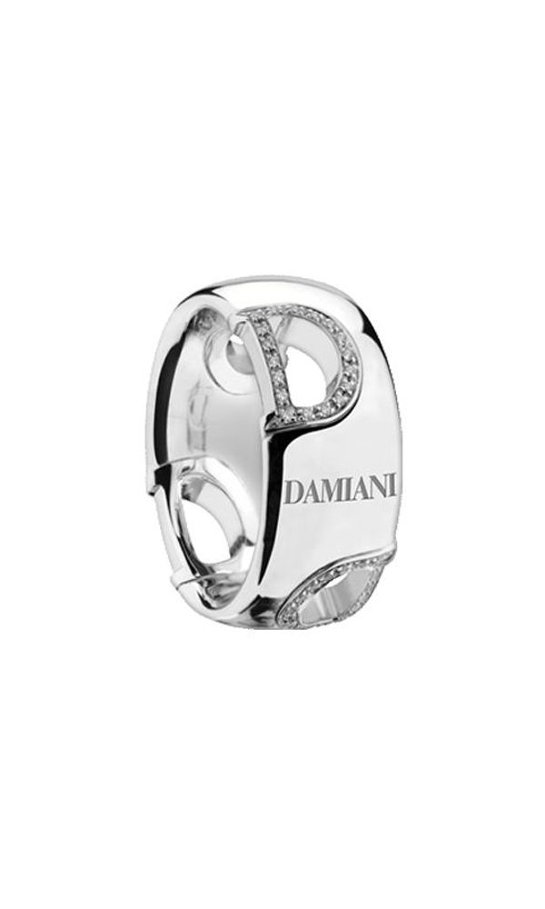 D.Icon white gold and diamonds ring