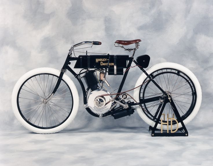 The first Harley Davidson motorcycle. 1903