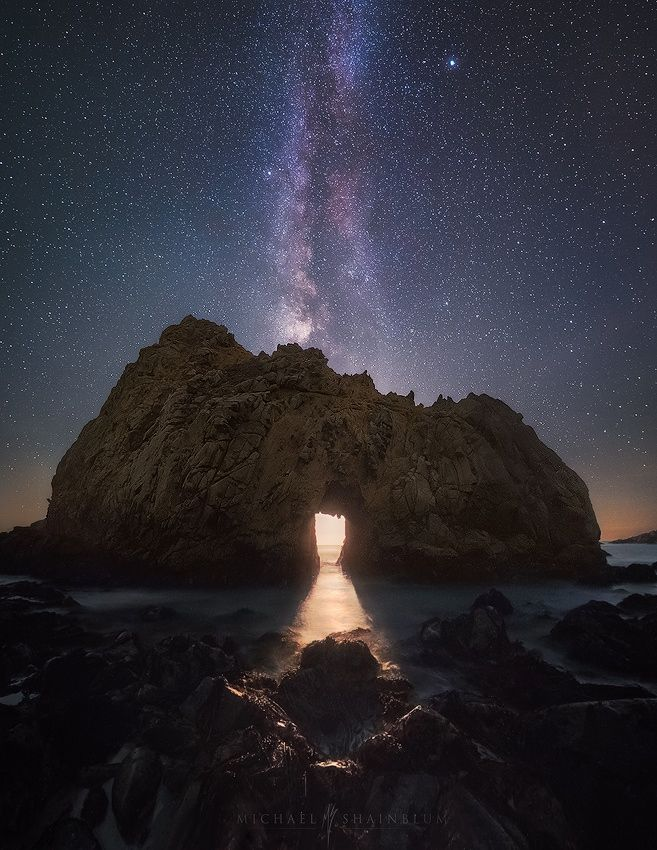 Photograph Temple of Moonlight by Michael Shainblum on 500px