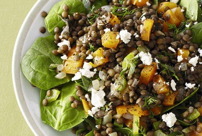 5 сытных салатов без майонеза;)) — Вкусные рецепты
