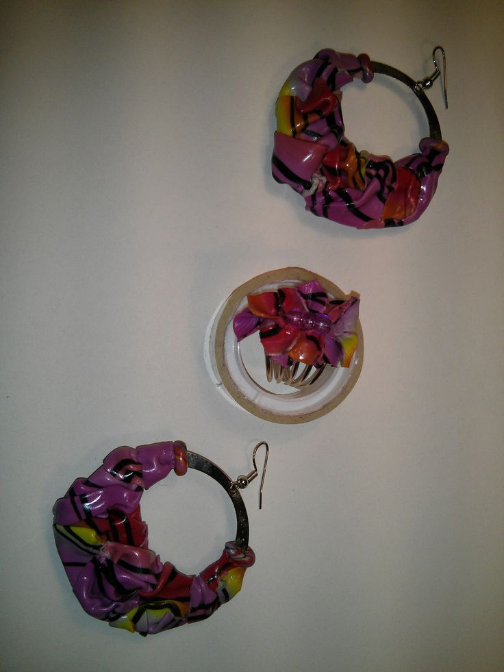 Hand made polymer clay  colorful earrings and ring. https://www.facebook.com/Anna-Donna-%C3%A9kszer-231340573715505/