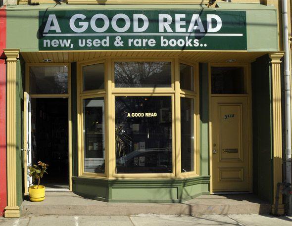 A Good Read - Roncesvalles Avenue, Toronto, Ontario, Canada (via BlogTO.com)