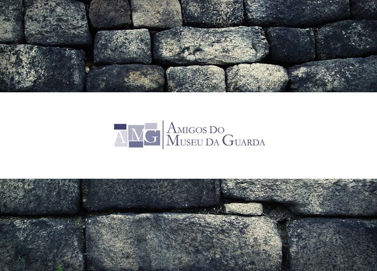 AMG - logótipo para associação dos Amigos do Museu da Guarda #adlcdesign
