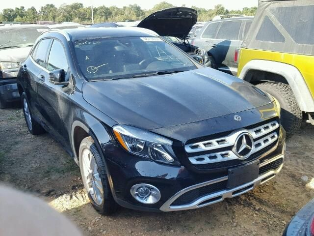 Salvage 2018 Mercedes-benz Gla250  Suv For Sale   Flood Title