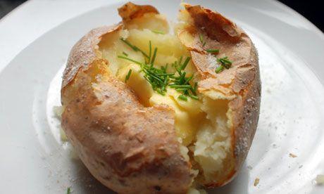 Home-Made.Cz: Domácí pečená brambora (Jacket Potato)