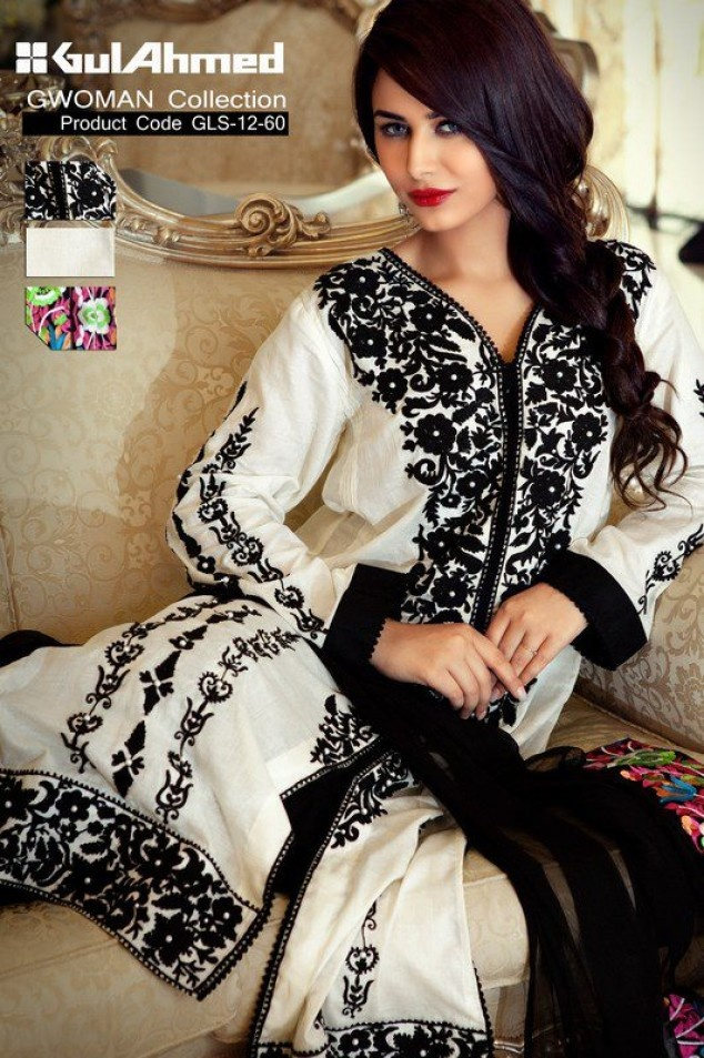 Single Lawn or G women Single prints is Launched for this summer season with latest summer spring collection by Gul ahmed Fabrics.G Women is the product of gul ahmed and in this product only shirt piece Size 2.5 mtr Fabrics is available and price start from 775.These dresses Best for Kurtis/Tops/Tubics and Kameez with white or black salwar or Long Shirts with jeans for casual wear.Gul ahmed own