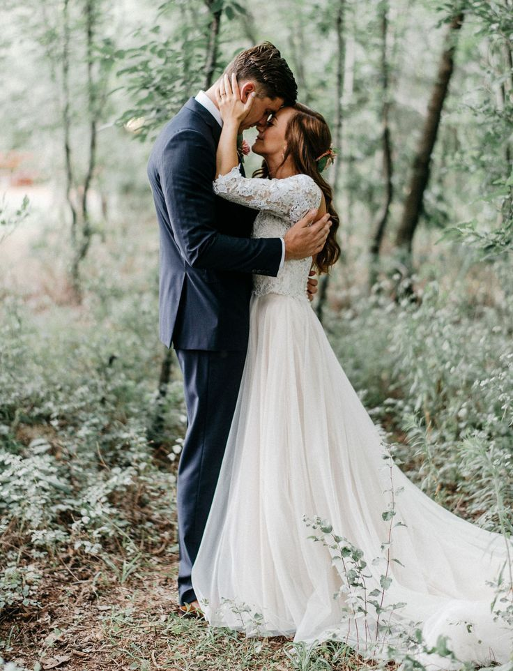 Enchanted Forest Wedding in Oklahoma: Peyton + Colton Women, Men and Kids Outfit Ideas on our website at 7ootd.com #ootd #7ootd