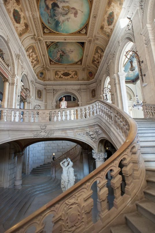 Southern France at the Opera House of Montpellier.