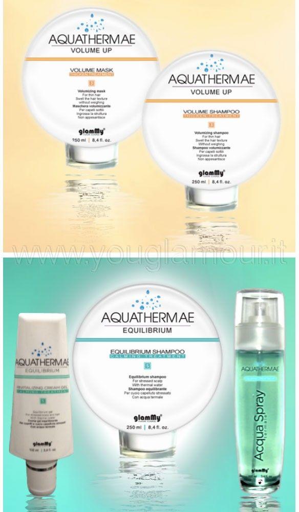 Aquathermae: prodotti mush have per la cura dei capelli