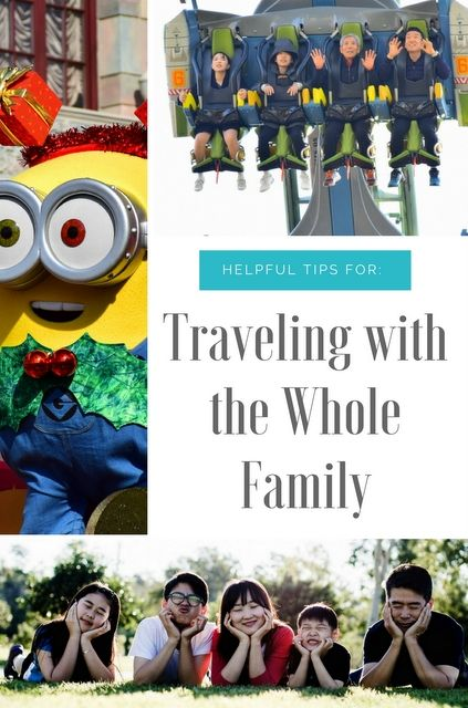 Taking a trip is supposed to be fun, but travelling with the whole family can have challenges of its own, especially if you have children of different ages.So we've put together some tips to make it easier for you :) #familytravel #travel