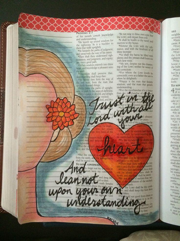 Journaling Proverbs 3 - Kelly Watts 2015