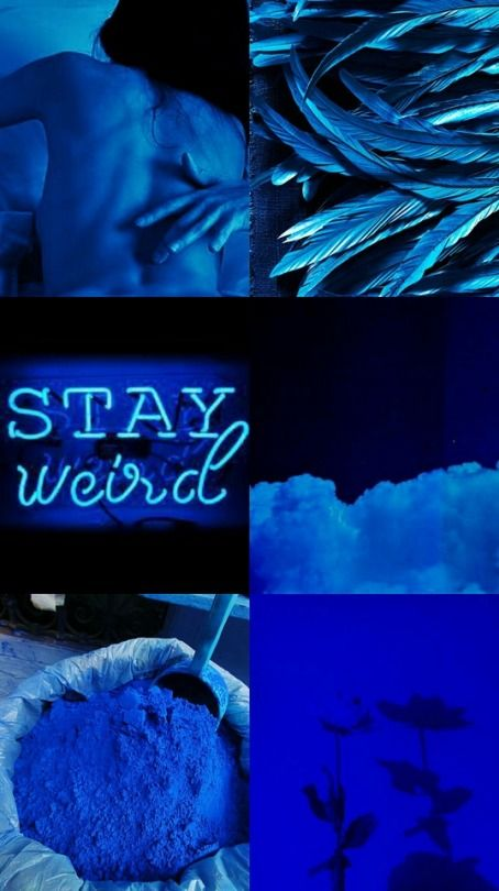 #indigo #blue #aesthetics