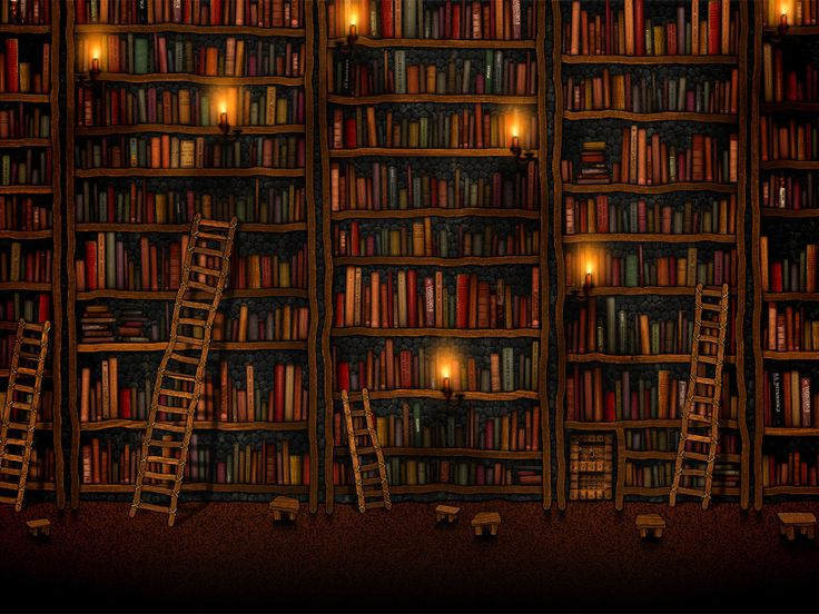 I have always loved books  - one day I want a library in my house with tall shelves and ladders!