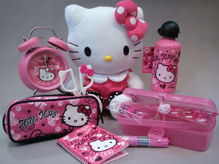 Hello Kitty. SO CUTE. Nuff said.